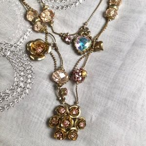 Betsey Johnson Jewelry - Betsy Johnson necklace & earrings